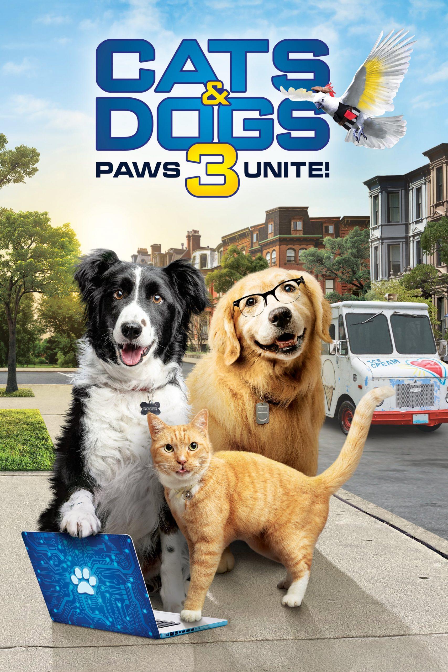kediler ve kopekler 3 paws unite 3002 poster scaled Kediler ve Köpekler 3: Paws Unite!